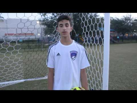 FC Boca Tryout message from Miguel cruz