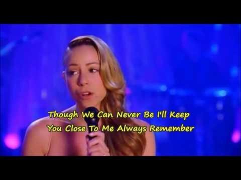 Mariah Carey - Never Too Far (HQ Karaoke)