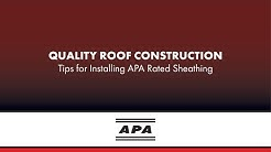 Quality Roof Construction