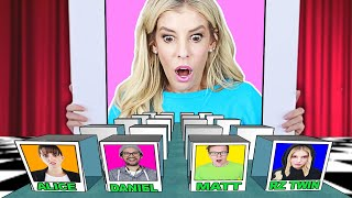 Giant GUESS WHO Game in Real Life to WIN Youtube Channel! (Game Master Inc. Vs. Best Friend) Video
