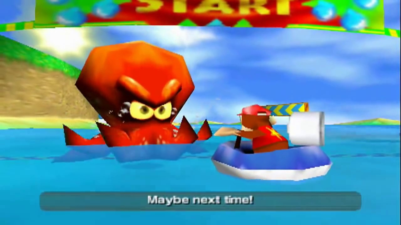 Diddy Kong Racing - Defeated Against Bosses - YouTube