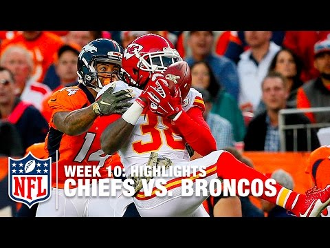 Chiefs vs. Broncos | Week 10 Highlights | NFL