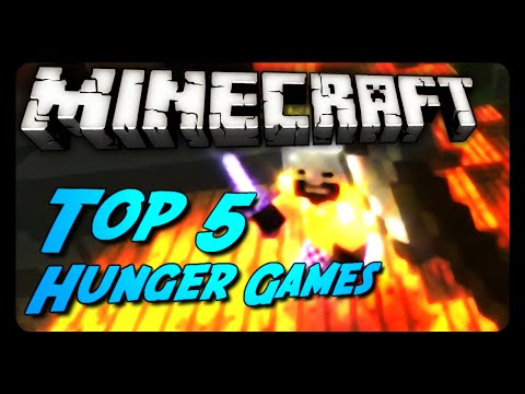Minecraft Top 5 | BEST Hunger Games Of 2014 | Montage!