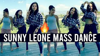 Sunny Leone Mass Dance | Sunny Leone Latest Dance Video | Filmjalsa