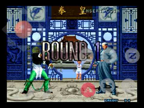 The King Of Fighter 2002 Magic Plus 2 Version Green Tiger Arcade