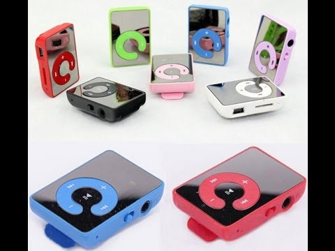 Mini Clip USB MP3 Music Media Player Support 1-8GB Micro SD TF + Headphone + Cable посылка из китая