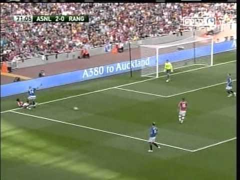 2009 (August 2) Arsenal (England) 3-Rangers Glasgow (Scotland) 0 (Emirates Cup)