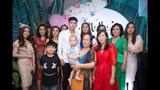 Hồ Quang Hiếu hạnh phúc mừng sinh nhật mẹ và gia đình