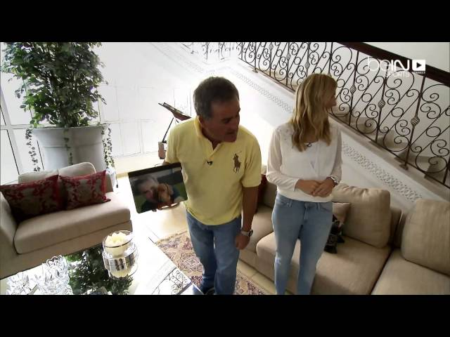 Sneak Peak through Richard Keys Doha home
