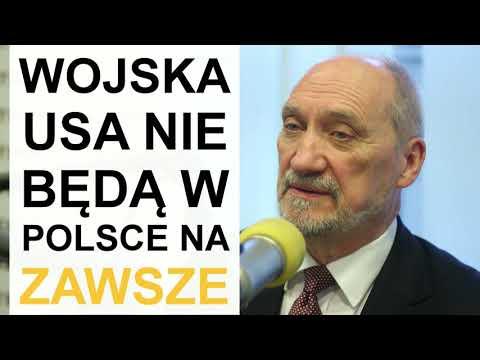 Macierewicz: Polska niezachowuje się wobec USA jak suwerenne państwo, ajak kraj kolonialny