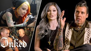 "Tattoo Artists Answer ""Who's Your Favorite Tattoo Artist?"" 