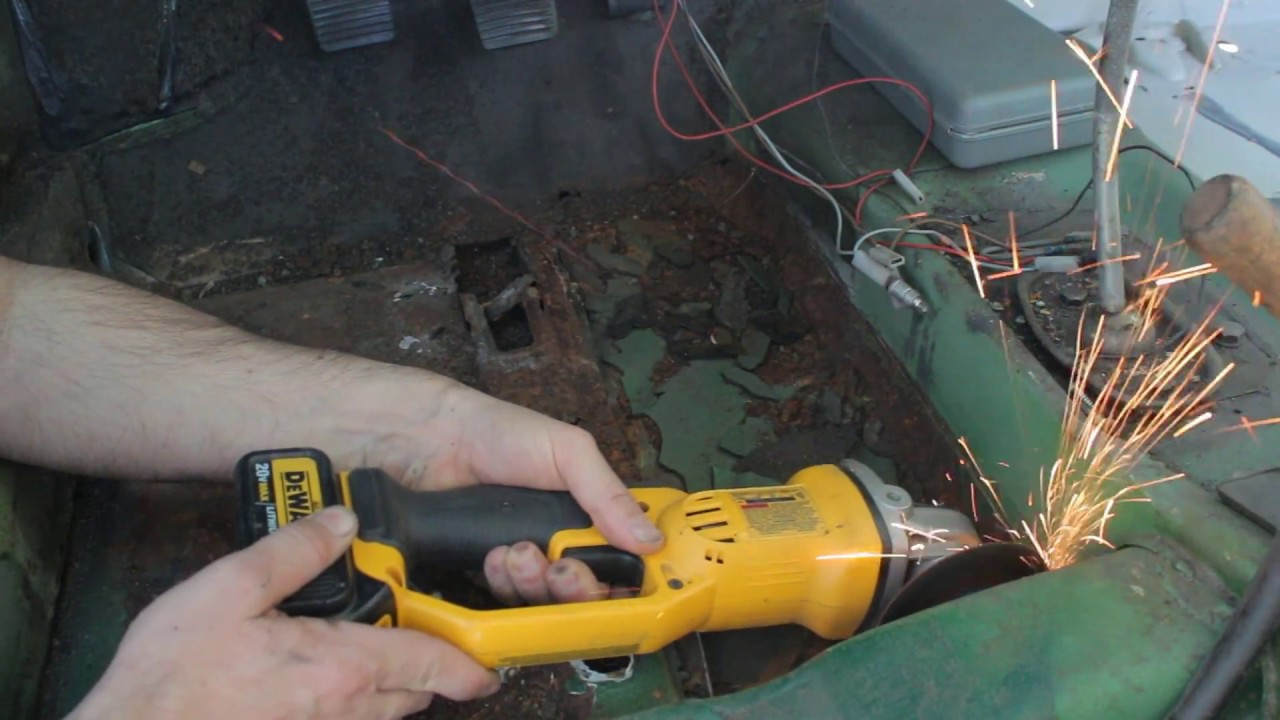 Vw Mk1 Scirocco Floor Pan Amp Inner Fender Rust Repair Youtube