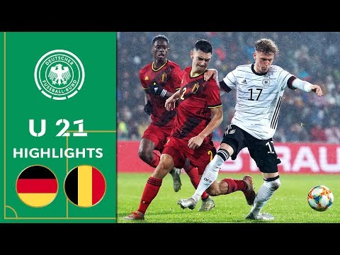 Funny Pinball Own Goal | Germany Vs. Belgium 2-3 | Highlights | U 21 Euro Qualifiers