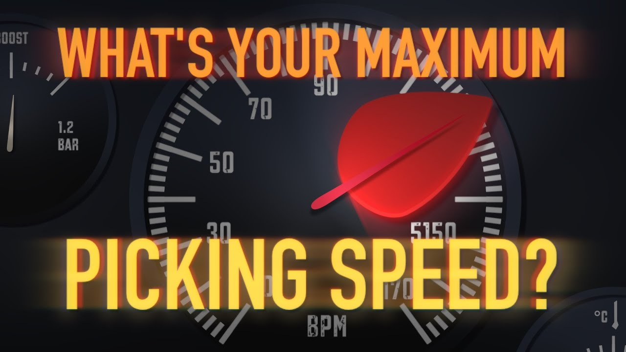 What's Your Maximum Picking Speed? Take the Poll! | Guitarworld