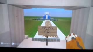 Lancement de mon serveur Minecraft Wii U.Merci a Diorne pour l'aide