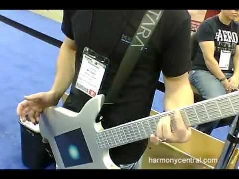 WNAMM 2011 Misa Digital Kitara Guitar Controller - YouTube