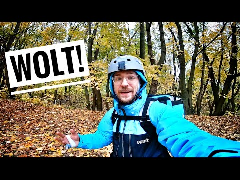 My first day at WOLT - Delivering food on an Electric Unicycle