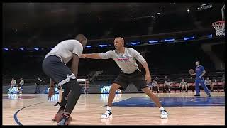 Kevin Durant 1 on 1 with Coach Monty Williams
