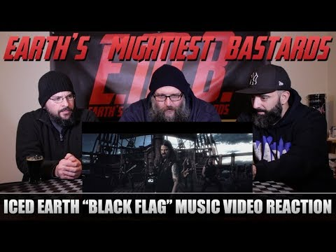 Music Video Reaction: ICED EARTH Black Flag