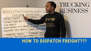 TRUCKING BUSINESS: HOW TO DISPATCH FREIGHT: LIVE TRAINING!!!
