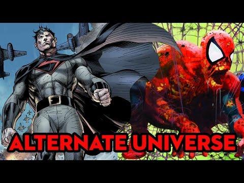 Top 10 Alternate Versions of Superheroes!