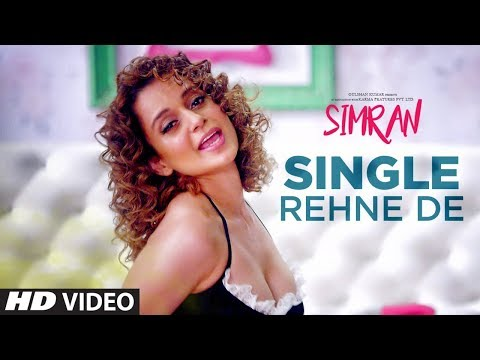 Thumbnail: Single Rehne De Video Song | Simran | Kangana Ranaut | Sachin-Jigar