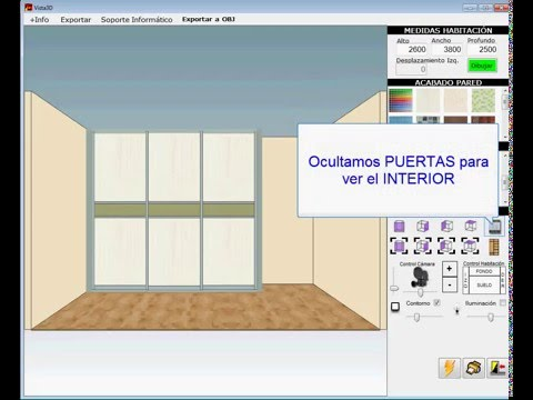 Software para dise o de muebles closets y cocinas cor for Programa de diseno de muebles