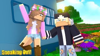 SNEAKING OUT TO MY NEW CRUSH! | Minecraft Little Kelly
