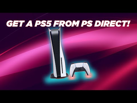 GET A PS5 FROM PS DIRECT!