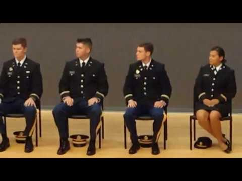 UNC-CH 2017 US Army ROTC Commissioning Ceremony
