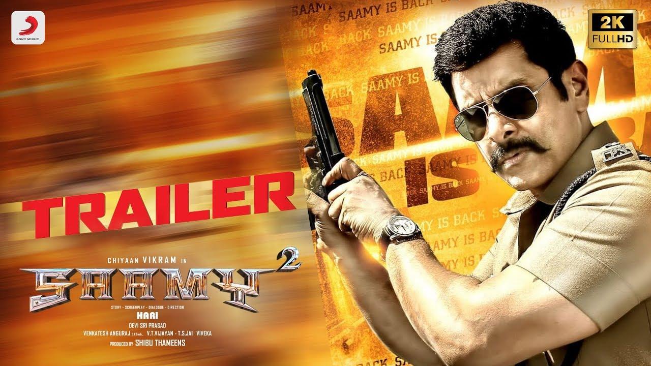 Saamy² - Theatrical Trailer (Tamil) | Chiyaan Vikram, Keerthy Suresh | Hari | Devi Sri Prasad #1