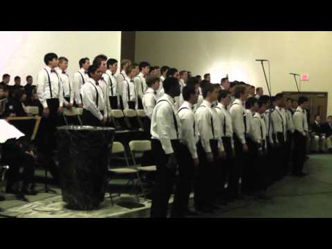 """Christmas Jazz Spectacular 2012 - Concert Choir sings """"A Swingin' Christmas"""""""