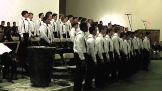 "Christmas Jazz Spectacular 2012 - Concert Choir sings ""A Swingin"