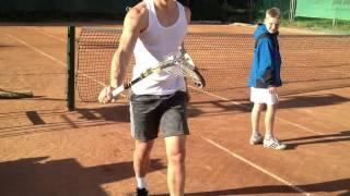 Учимся ЛОМАТЬ ракетки в большом теннисе