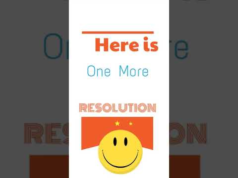 How to keep your new year resolutions? What is your resolution for this year?