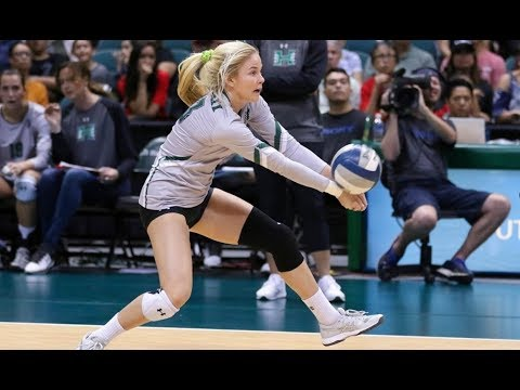 Rainbow Wahine Volleyball 2017 - Hawaii Vs CSUN