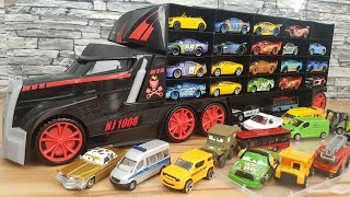 Toy Cars Transportation by Truck Disney Cars Toys Video for Kids