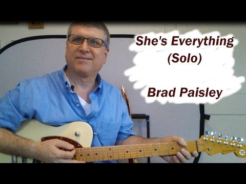 How to Play She's Everything  (Solo, Brad Paisley) with TAB