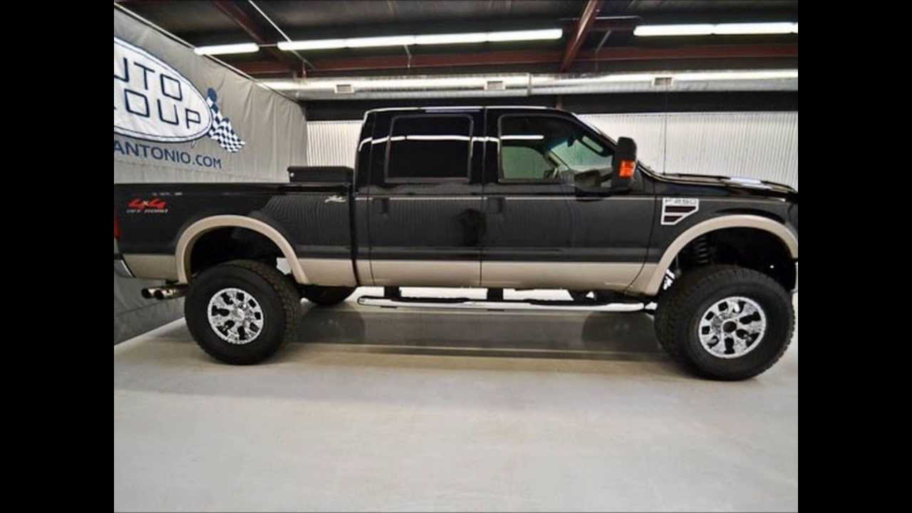 2009 ford f 250 diesel lariat lifted truck for sale youtube. Black Bedroom Furniture Sets. Home Design Ideas