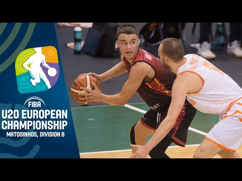 Netherlands v Belgium - Full Game - FIBA U20 European Championship Division B 2019