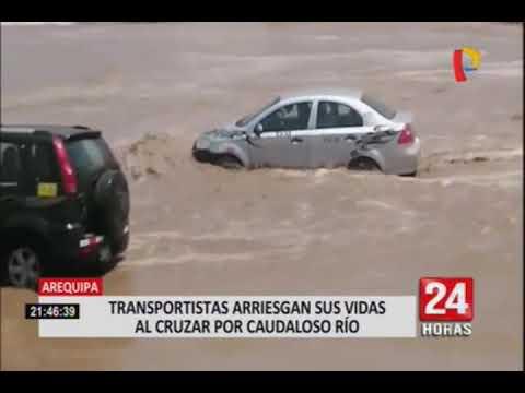 Intensas lluvias afectan al sur del País