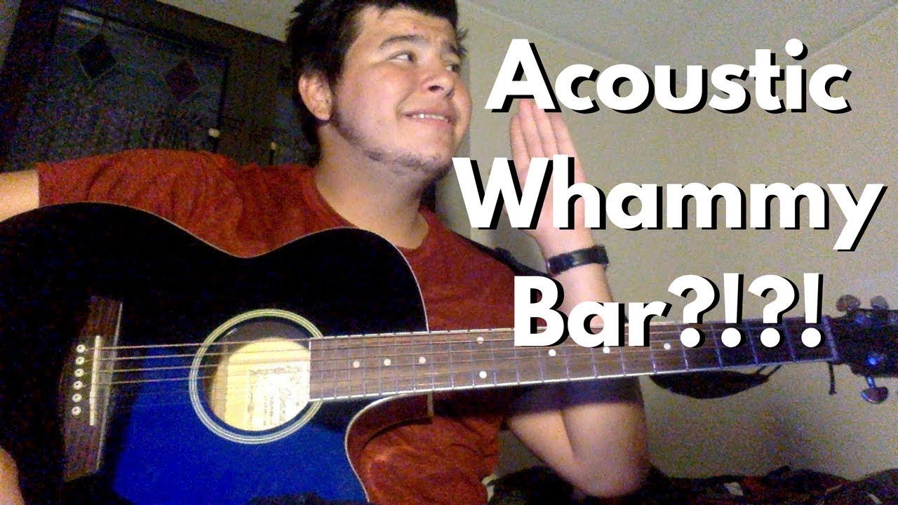 Acoustic Whammy Bar All Natural Youtube