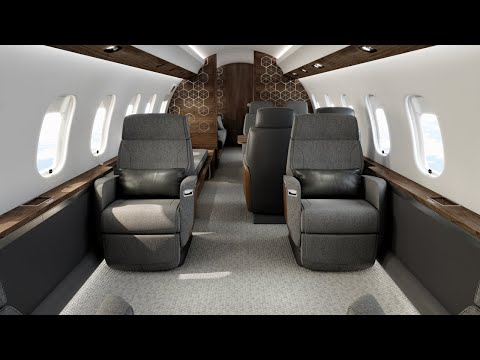 L'avion d'affaires Global 6500