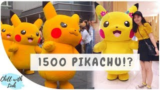 Pikachu Outbreak Festival 2018 and Eevee Parade in Yokohama (Vietsub CC)
