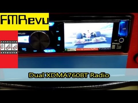 Dual XDMA760BT CD MP3 USB Bluetooth Radio | Car Audio