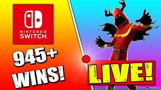 🔴 Fortnite Nintendo Switch Player // 1V1's Vs Subscribers!! // 945+ Wins // Solo Matches + Tips!!
