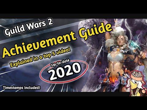 Guild wars 2 - ACHIEVEMENT POINTS FARMING [2018] | A Top 5 GW2 Guide | REWARDS | EASY | BASICS thumbnail