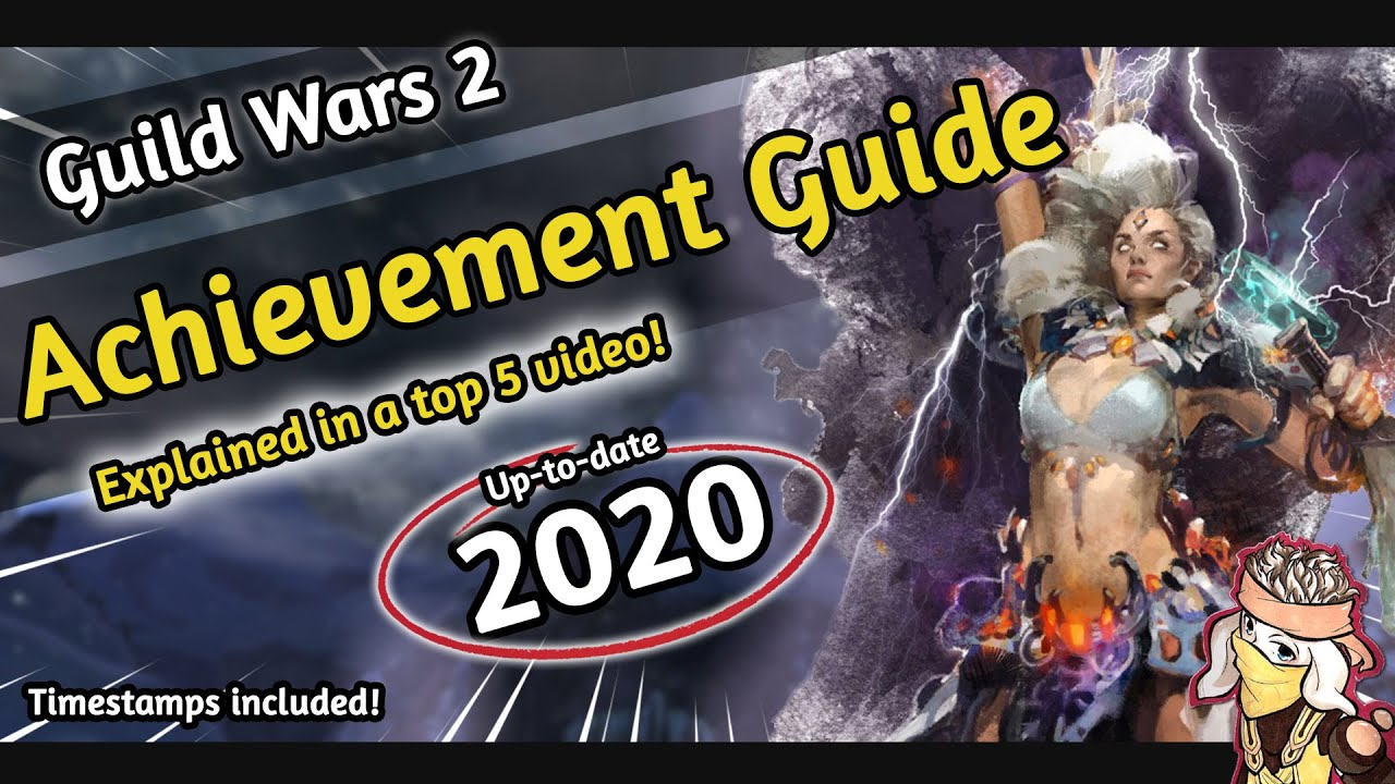 Guild wars 2 - ACHIEVEMENT POINTS FARMING [2018/2019] | A Top 5 GW2 Guide |  REWARDS | EASY | BASICS