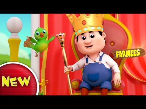 Old King Cole | Nursery Rhymes Farmees | Baby Songs | Kids R