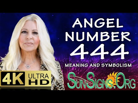 Angel Number 444 Meaning And Symbolism- 4:44 - SunSigns.Org